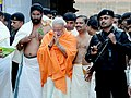 Narendra Modi offers prayers at Sree Padmanabhaswamy Temple in Trivadrum, Kerala.jpg