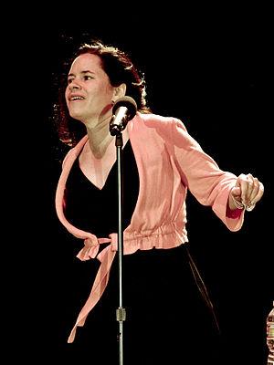 Natalie Merchant - Merchant at a concert in Maryhill, Washington 2010.