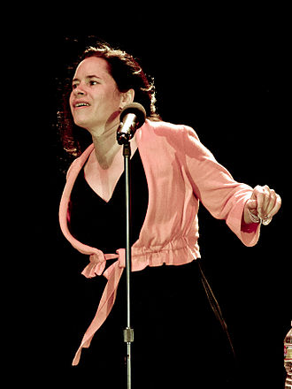 Natalie Merchant - Merchant at a concert in Maryhill, Washington in 2010
