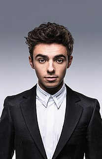 Nathan Sykes singer from England