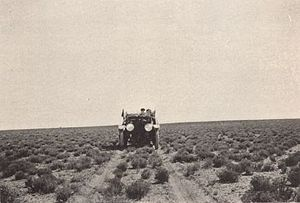 National Old Trails Road - National Old Trails Road near Holbrook, Arizona around 1915