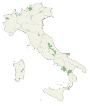 National parks of Italy