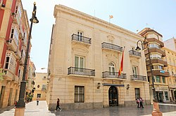 Naval Hedquarter Palace in Cartagena in Spain b.jpg