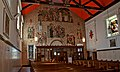 Nave South Wall with pictures of History of Cathedral Basilica St Augustine.jpg