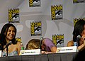 Naya Rivera, Heather Morris & Jenna Ushkowitz (4852970676).jpg