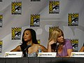 Naya Rivera & Heather Morris (4852256849).jpg