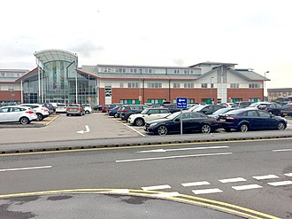 Neath Port Talbot Hospital - Image: Neath Port Talbot Hospital (geograph 6009166)