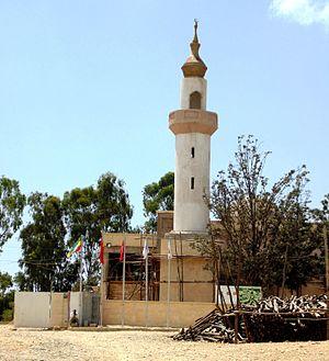 Negash - Amedin Mesgid mosque in Negash