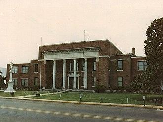 Neshoba County, Mississippi - Image: Neshoba County Mississippi Courthouse