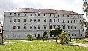 Penig - Image: Neues Schloss Penig Parkansicht