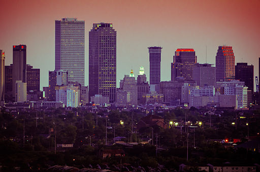 New Orleans skyline 2012 from Danziger