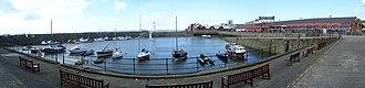 Newhaven, Edinburgh - Image: Newhaven Harbour (composite photograph)