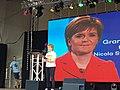 Nicola Sturgeon talking as Grand Marshall at Glasgow Pride 2018.jpg