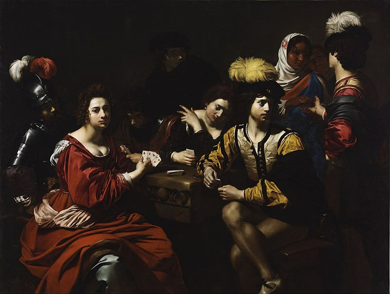 File:Nicolas Régnier - Cardsharps and Fortune Teller - WGA19040.jpg