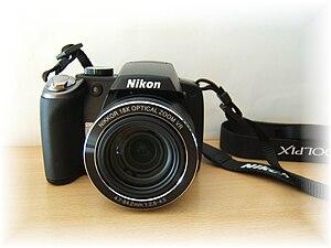 Nikon Coolpix P80 - Image: Nikon Coolpix P80 1
