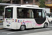 NishiTokyoBus B202 Hamurun rear.jpg