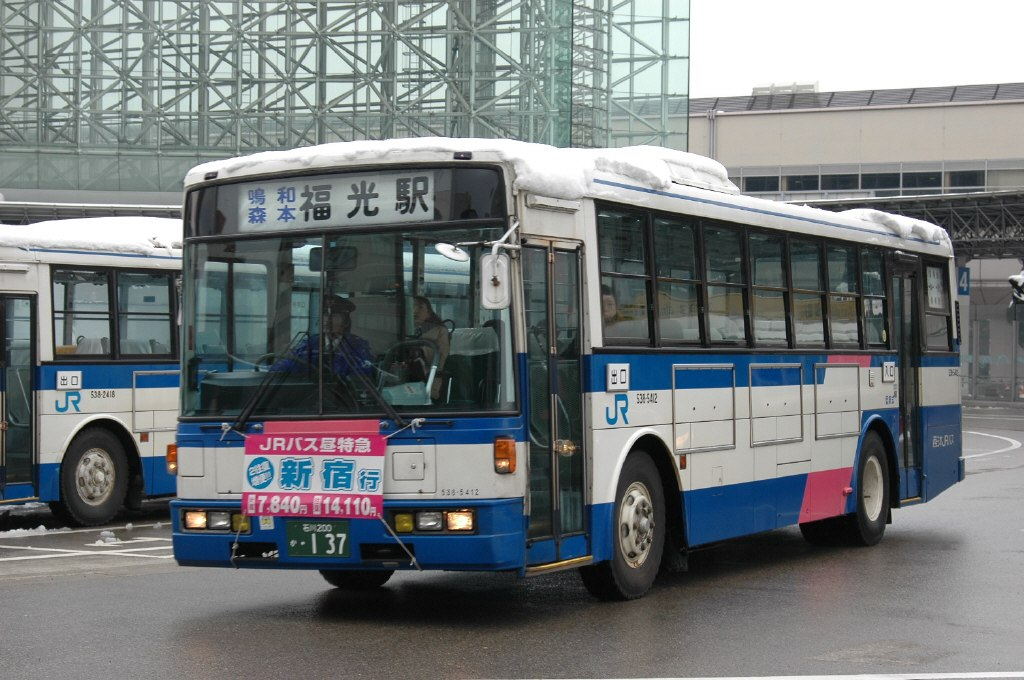Nishinihon-JR-Bus 538-5412