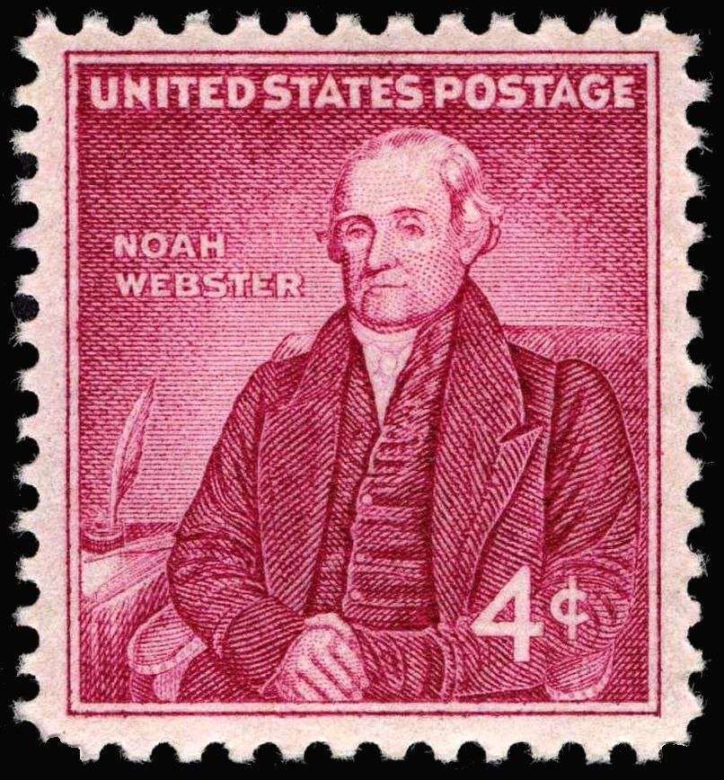 Noah Webster 1958 issue