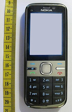 image illustrative de l'article Nokia C5