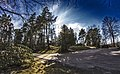 Nokian kirkolta, sankarihautausmaan suuntaan - panoramio.jpg