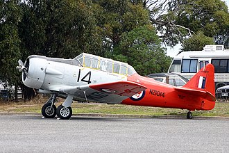 No. 4 Squadron RNZAF - Image: North American SNJ 4 Texan AN0970328