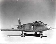 North American YF-93A on lakebed.jpg