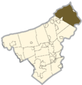Northampton county - Upper Mount Bethel Township.png