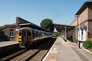 Driffield railway station Railway station in the East Riding of Yorkshire, England