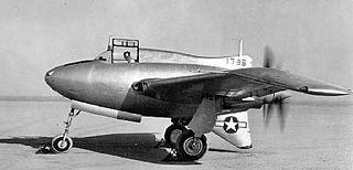 Northrop XP-56 Black Bullet Experimental fighter intercepter aircraft by Northrop