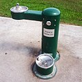 Not a sculpture - Drinking fountain in City Park, New Orleans.jpg
