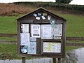 Notice board at the Yield Gate - geograph.org.uk - 628908.jpg