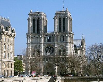 Notre Dame de Paris: Western Façade
