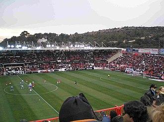 Nou Estadi de Tarragona - Image: Nou estadi dins
