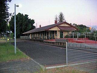 Harvey railway station, Western Australia