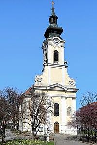 Oberlaa (Wien) - Kirche hl. Ägydius.JPG