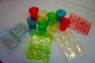 Chitosan - Image: Objects made of chitosan