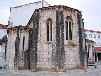 Monastery of São Dinis de Odivelas - View of the Gothic apse of the Monastery of Odivelas.