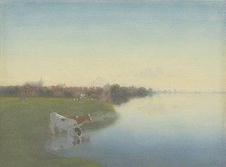 Oever van de IJssel bij Hattem