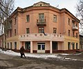 Office of the party of regions, former library - Офис «Партии регионов», бывшая библиотека - panoramio.jpg