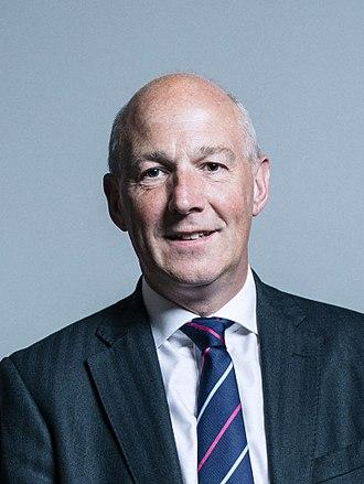 John Stevenson (British politician) - Image: Official portrait of John Stevenson crop 2