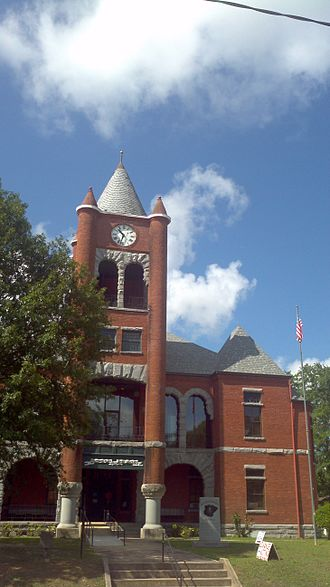 Oglethorpe County, Georgia - Image: Oglethorpe County Courthouse