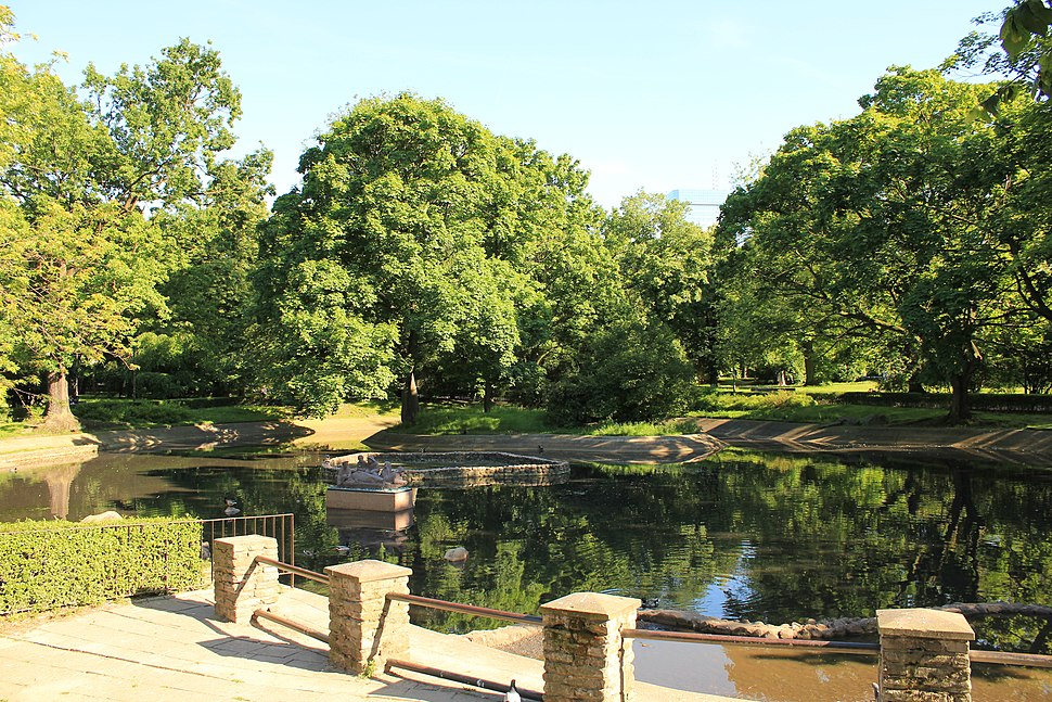 Ogród Krasińskich w Warszawie BK
