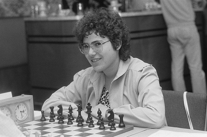 File:Ohra schaakfestival enige vrouwelijke deelneemster Susan Polgar (Hongarije), Bestanddeelnr 933-3811.jpg