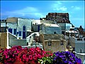 Oia city, colors and scent of flowers - panoramio.jpg