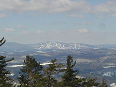 Okemo as seen from Mount Ascutney