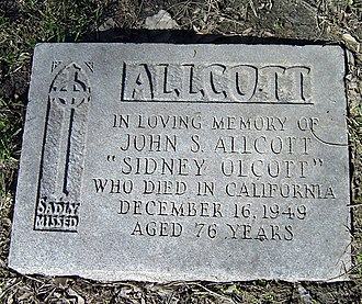 Sidney Olcott - Sidney Olcott's Grave in Toronto, Ontario