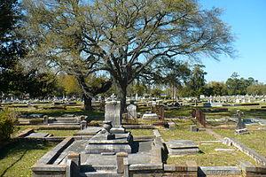 Catholic Cemetery (Mobile, Alabama) - Image: Old Catholic Cemetery 06