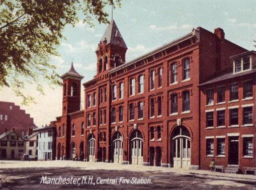 Old Fire Station, Manchester, NH