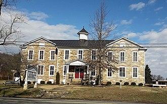 Hillsboro, Loudoun County, Virginia - Old Stone School in Hillsboro