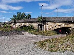 White Cart Bridge - Image: Old White Cart bridge geograph.org.uk 35388